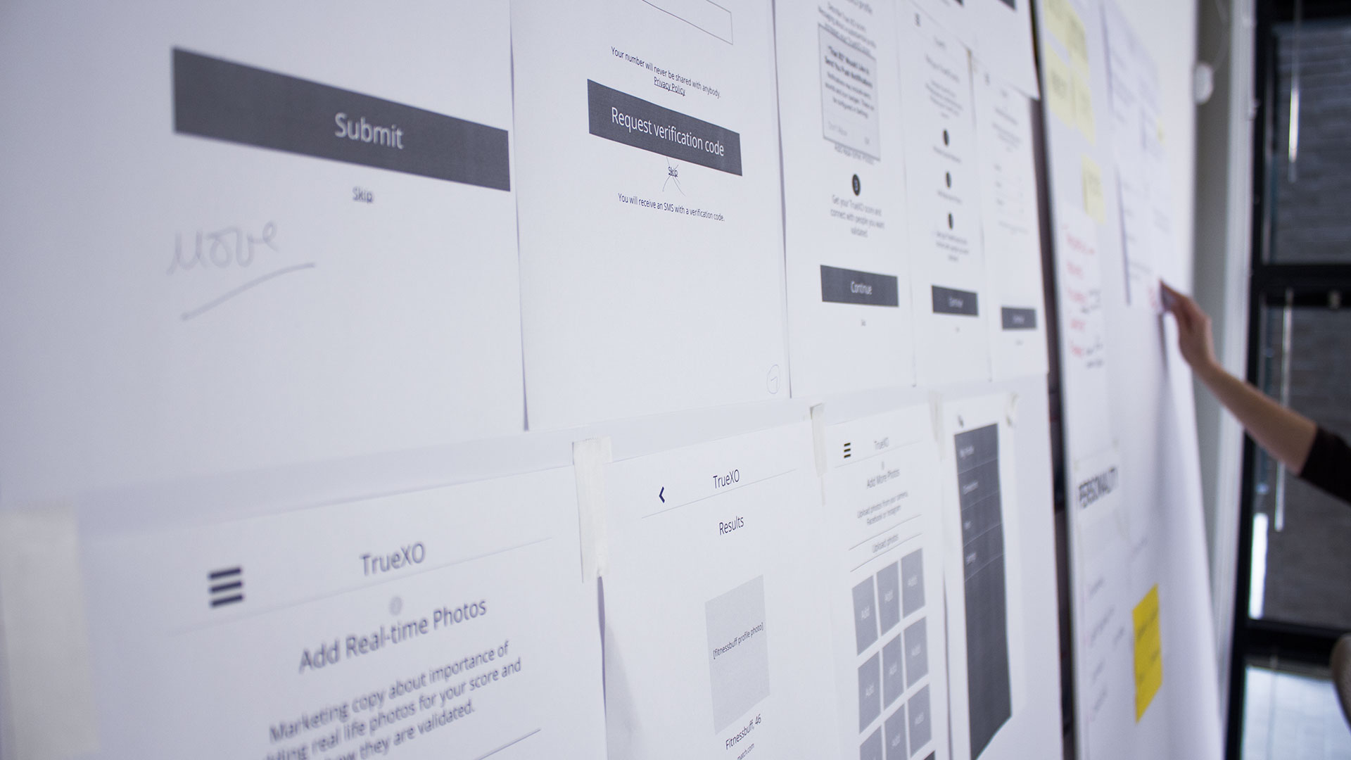 bTru UX development process
